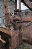 Carro ferroviario oxidado Imagen de archivo