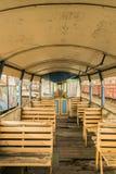 Carro ferroviario viejo Fotografía de archivo