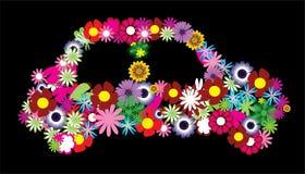 Carro floral Fotografia de Stock