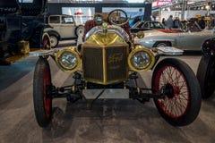 Carro Ford Model T Louco do volante do vintage, 1912 Fotografia de Stock