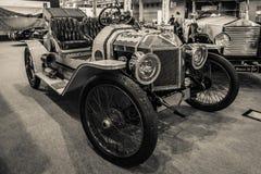 Carro Ford Model T Louco do volante do vintage, 1912 Imagem de Stock