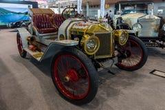 Carro Ford Model T Louco do volante do vintage, 1912 Imagem de Stock Royalty Free