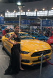 Carro Ford Mustang GT 5 Fotografia de Stock