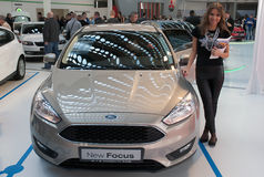 Carro Ford New Focus Imagens de Stock Royalty Free