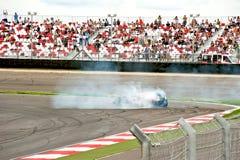 Carro Formula-1 em um desempenho da mostra Fotografia de Stock