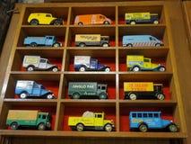 Carro fundido colorido do brinquedo Fotografia de Stock