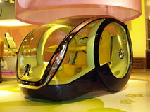 Carro futurista Fotografia de Stock Royalty Free
