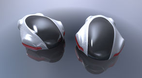 Carro futurista do conceito Foto de Stock Royalty Free