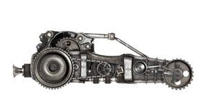 Carro futurista do estilo de Steampunk foto de stock royalty free