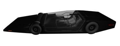 Carro futuro do protótipo ilustração do vetor