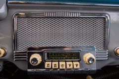 Carro GAZ M21 Volga do vintage Foto de Stock Royalty Free