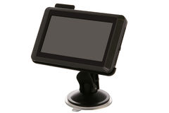Carro GPS Imagens de Stock Royalty Free