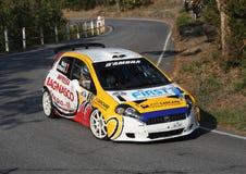 Carro grandioso da reunião do punto de Fiat Foto de Stock