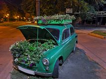 carro 98-Green Fotografia de Stock Royalty Free