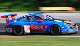 Carro GT3 de Porsche 911 foto de stock