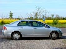 Carro híbrido Imagem de Stock