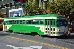 Carro histórico da rua Fotografia de Stock