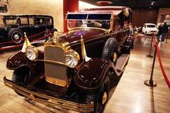 Carro histórico do papa foto de stock royalty free