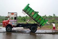 Carro indio colorido Imágenes de archivo libres de regalías