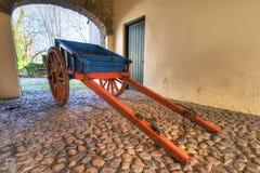 Carro irlandés viejo de la cabaña Imagen de archivo