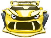 Carro irritado Imagem de Stock Royalty Free