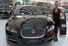 Carro Jaguar XJ Imagem de Stock