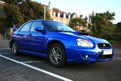 Carro japonês do desempenho - Subaru Impreza Imagens de Stock Royalty Free