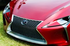 Carro LF-Lc do conceito de Lexus Foto de Stock