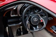 Carro LF-Lc do conceito de Lexus Foto de Stock Royalty Free