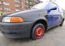 Carro liso Fotografia de Stock