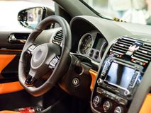 Carro luxuoso Imagens de Stock