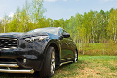Carro luxuoso Imagem de Stock Royalty Free