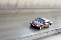carro luxuoso - carro modelo do brinquedo imagens de stock royalty free