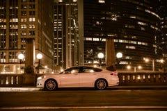 Carro luxuoso no lado da rua Imagens de Stock