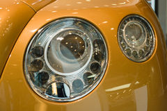 Carro luxuoso pessoal Bentley New Continental GT V8 Imagens de Stock Royalty Free