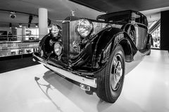 Carro luxuoso Rolls-Royce Phantom III Limusina de visita, 1937 Foto de Stock