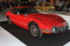 Carro luxuoso velho na exposição automóvel 2014 de Paris Foto de Stock Royalty Free