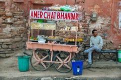Carro móvel em Jaipur, Índia Imagem de Stock Royalty Free