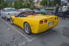 Carro mais novo, convertible 2004 de Chevrolet Corvette Foto de Stock Royalty Free