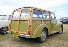 Carro menor do vintage de Morris Fotografia de Stock
