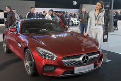 Carro Mercedes-AMG GT Foto de Stock