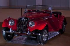 Carro MG TF do vintage Foto de Stock Royalty Free