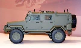 Carro militar Foto de Stock