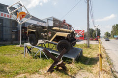 Carro militar Foto de Stock Royalty Free