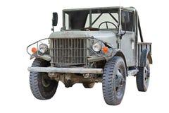 Carro militar viejo fotografía de archivo