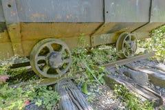 Carro minero viejo y abandonado imagen de archivo libre de regalías