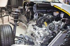 Carro modelo Imagem de Stock