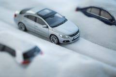 Carro modelo do brinquedo Fotografia de Stock