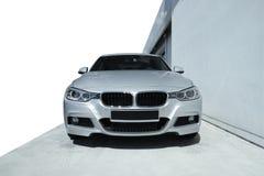 Carro moderno BMW 3 Foto de Stock