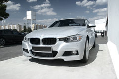 Carro moderno: BMW 3 Fotografia de Stock Royalty Free